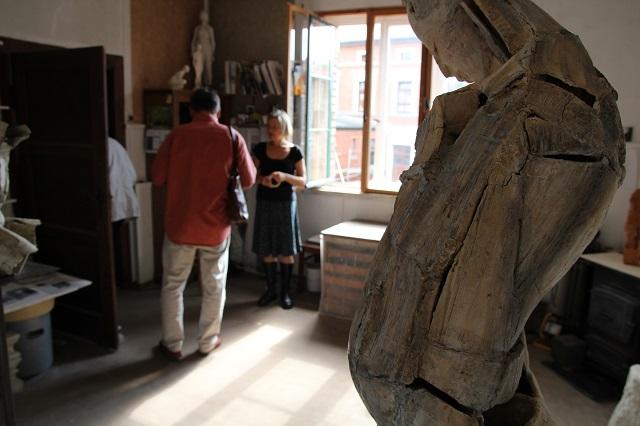 ateliergemeinschaft kunstrichtungtrotha Tag des offenen ateliers 2016 b