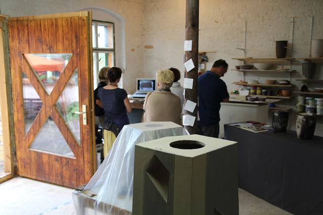 ateliergemeinschaft kunstrichtungtrotha Tag des offenen ateliers 2016