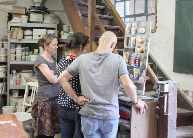 ateliergemeinschaft kunstrichtungtrotha tag des offenen ateliers 2018 (2)