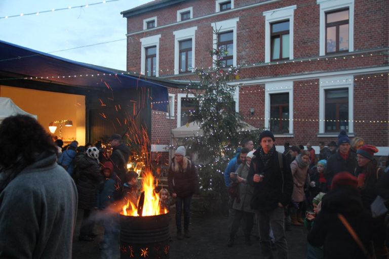 Adventsmarkt in Halle-Trotha kunstrichtungtrotha saalestraße (12)