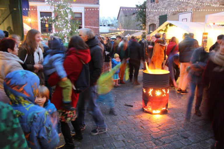 Adventsmarkt in Halle-Trotha kunstrichtungtrotha saalestraße (13)