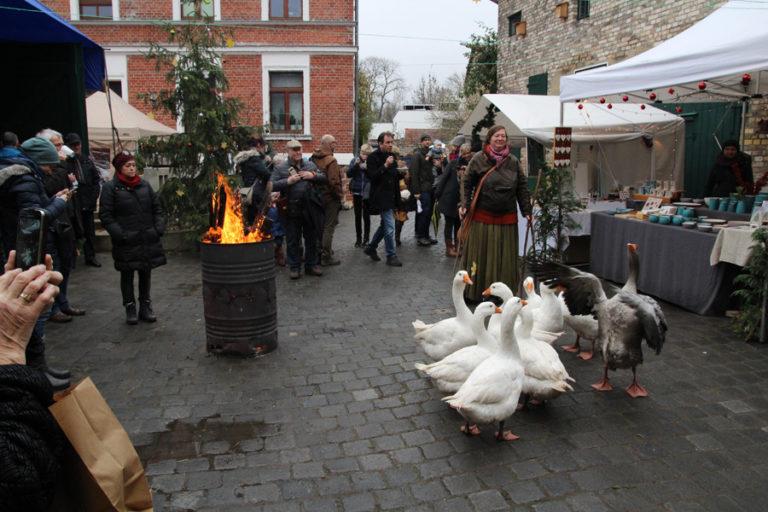 Adventsmarkt in Halle-Trotha kunstrichtungtrotha saalestraße (19)