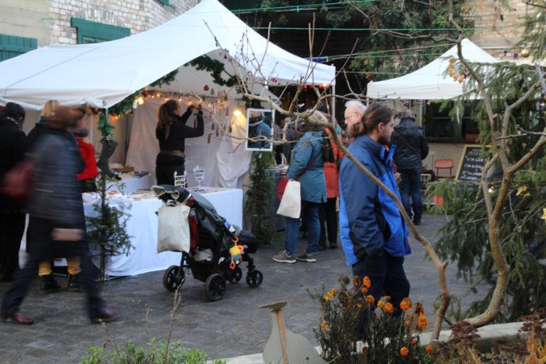 Adventsmarkt in Halle-Trotha kunstrichtungtrotha saalestraße (3)