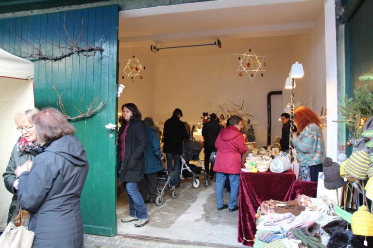 Adventsmarkt in Halle-Trotha kunstrichtungtrotha saalestraße (4)