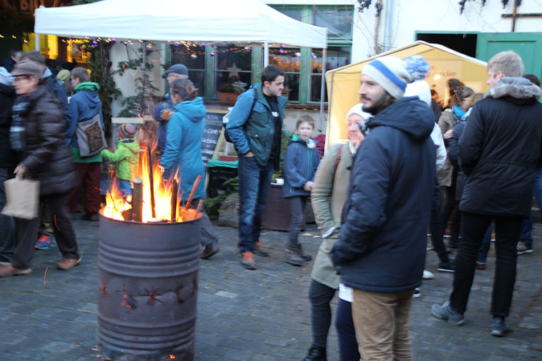 Adventsmarkt in Halle-Trotha kunstrichtungtrotha saalestraße (8)