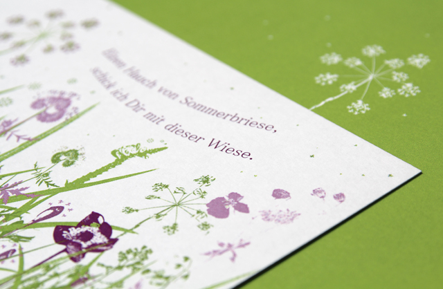 Postkarte -  Suse Kaluza Papierdesign