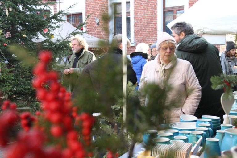 Impressionen vom Adventsmarkt in der Saalstraße 2019