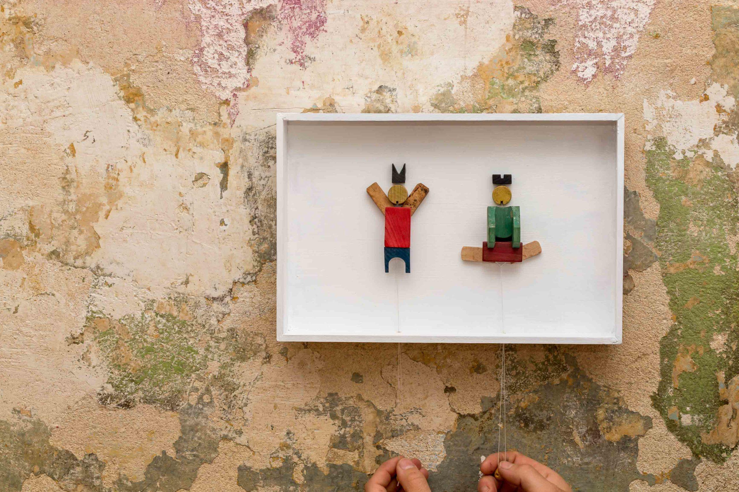 Gangnam Style 2020 / Holz, Acryl / 30x20 cm